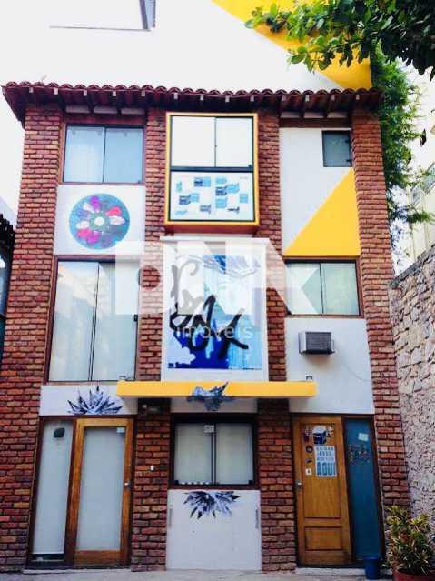Gago fachada - Casa de Vila 3 quartos à venda Laranjeiras, Rio de Janeiro - R$ 950.000 - NFCV30027 - 3