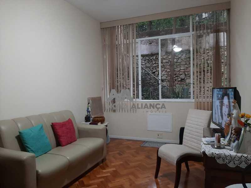 37024acc-e0f0-477a-8c74-57ef66 - Apartamento à venda Rua Pereira da Silva,Laranjeiras, Rio de Janeiro - R$ 490.000 - NBAP11077 - 1