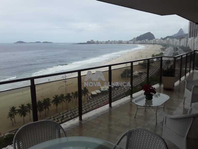 1 - Apartamento 4 quartos para alugar Copacabana, Rio de Janeiro - R$ 15.000 - NBAP40438 - 1