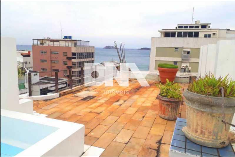 1 - Cobertura 5 quartos à venda Leblon, Rio de Janeiro - R$ 8.500.000 - NCCO50018 - 1