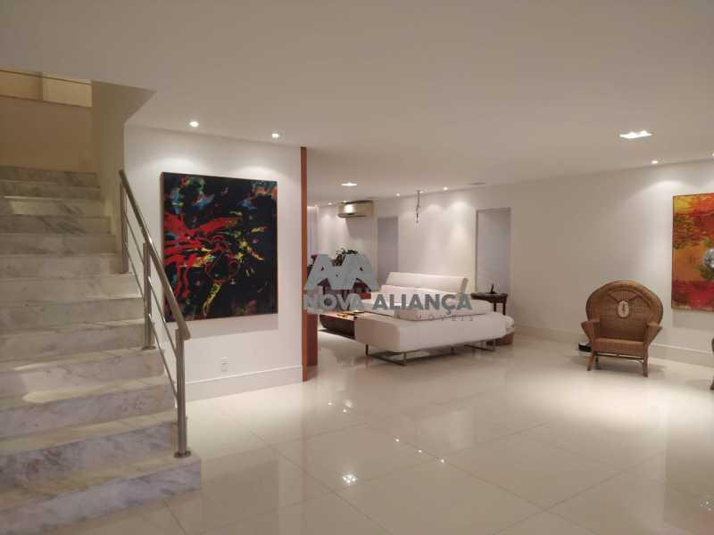 714ed6fc-f17c-422f-a4e3-edb33e - Casa em Condomínio 5 quartos à venda Barra da Tijuca, Rio de Janeiro - R$ 5.500.000 - NSCN50003 - 1