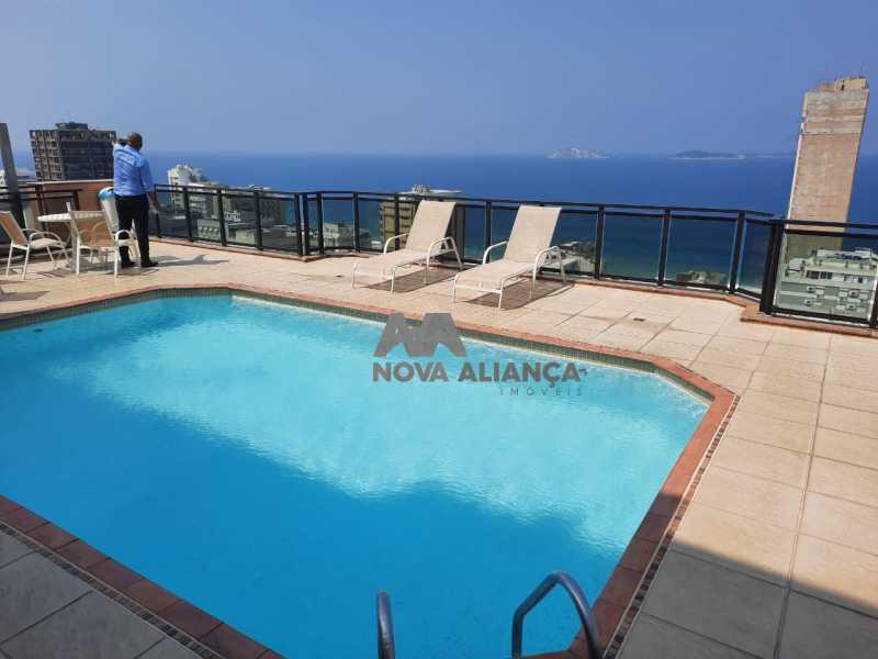 5f51f2ec-a3ae-4061-87b4-a62aa7 - Flat à venda Leblon, Rio de Janeiro - R$ 1.500.000 - NSFL00010 - 4