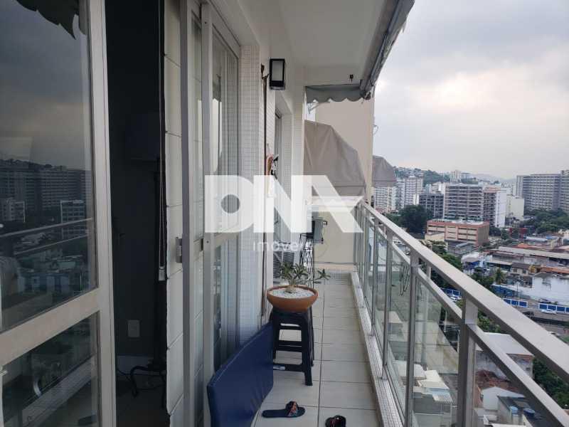 1 - Apartamento à venda Rua Santa Luísa,Maracanã, Rio de Janeiro - R$ 950.000 - NSAP31835 - 3