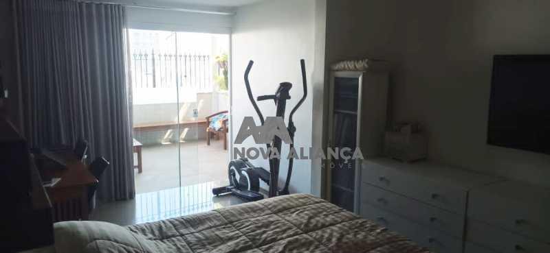 quarto principal 3 - Cobertura à venda Praça Saenz Peña,Tijuca, Rio de Janeiro - R$ 642.000 - NTCO10013 - 6
