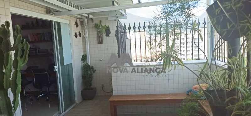 terraço gourmet 1 - Cobertura à venda Praça Saenz Peña,Tijuca, Rio de Janeiro - R$ 642.000 - NTCO10013 - 8