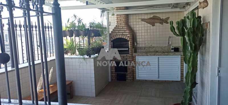 terraço gourmet 2 - Cobertura à venda Praça Saenz Peña,Tijuca, Rio de Janeiro - R$ 642.000 - NTCO10013 - 9