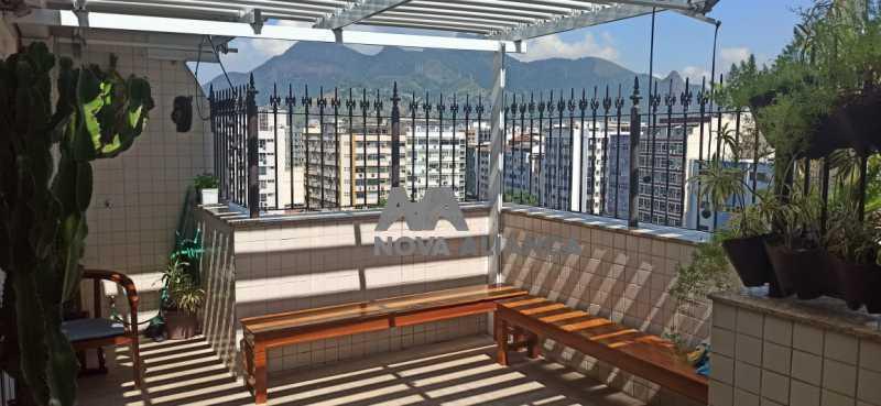 terraço gourmet 4 - Cobertura à venda Praça Saenz Peña,Tijuca, Rio de Janeiro - R$ 642.000 - NTCO10013 - 11