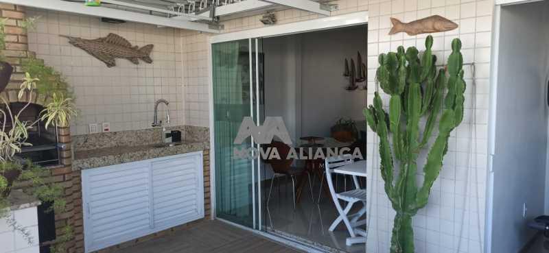 terraço gourmet 8 - Cobertura à venda Praça Saenz Peña,Tijuca, Rio de Janeiro - R$ 642.000 - NTCO10013 - 13