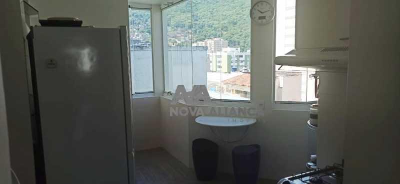area serviço cortina de vidro - Cobertura à venda Praça Saenz Peña,Tijuca, Rio de Janeiro - R$ 642.000 - NTCO10013 - 22