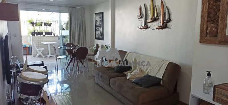 salao dois ambientes 1 - Cobertura à venda Praça Saenz Peña,Tijuca, Rio de Janeiro - R$ 642.000 - NTCO10013 - 1