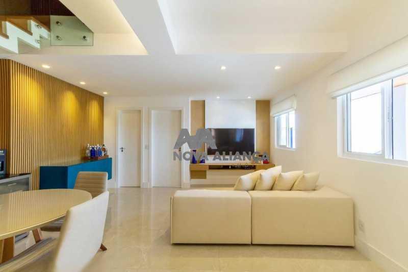 salao piso inferi3 - Casa à venda Rua Lópes da Cruz,Méier, Rio de Janeiro - R$ 849.000 - NTCA20041 - 3