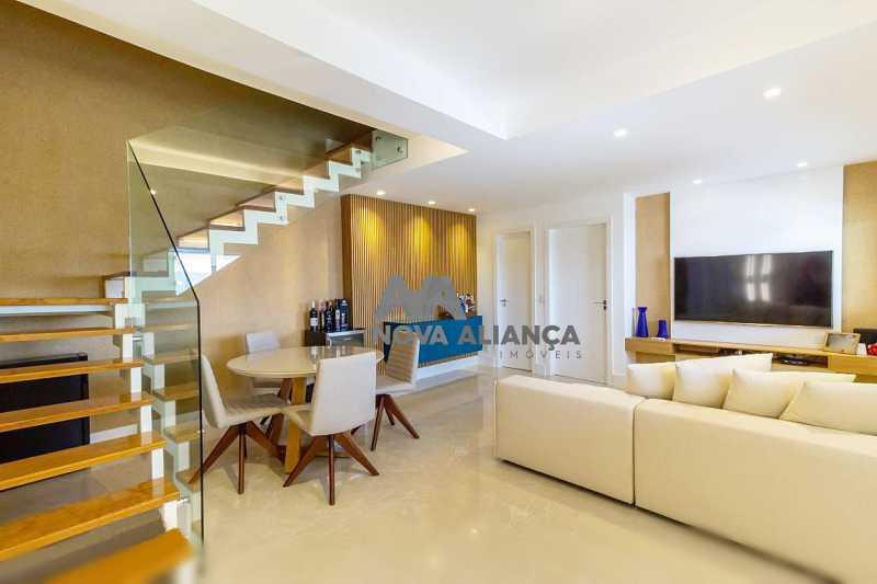 salao piso inferi2 - Casa à venda Rua Lópes da Cruz,Méier, Rio de Janeiro - R$ 849.000 - NTCA20041 - 1