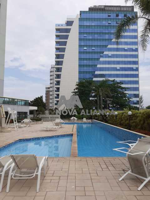 17 - Flat à venda Avenida Lúcio Costa,Barra da Tijuca, Rio de Janeiro - R$ 980.000 - NBFL10011 - 18