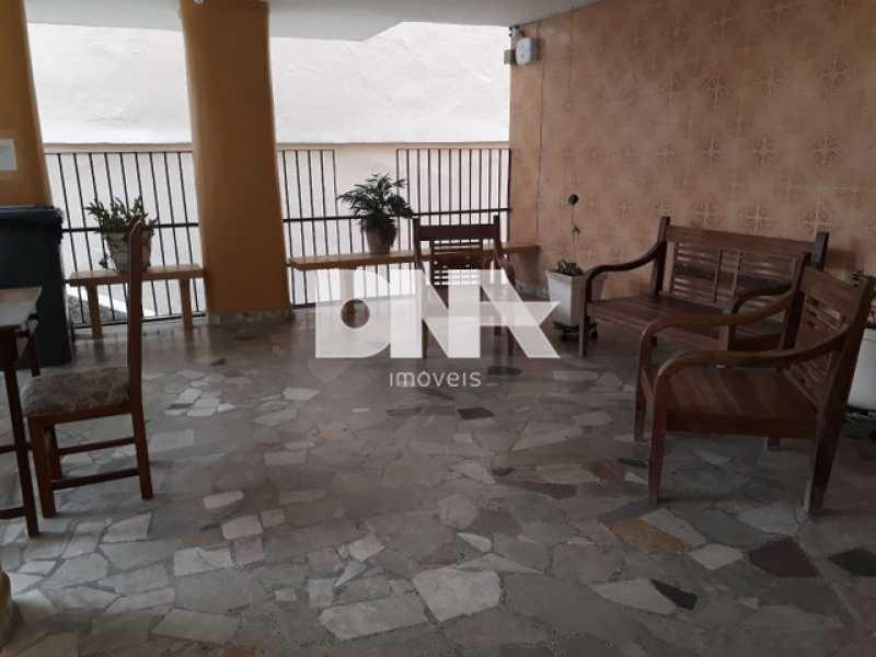 Hall de entrada do condomínio - Kitnet/Conjugado 27m² à venda Tijuca, Rio de Janeiro - R$ 200.000 - NTKI00031 - 5