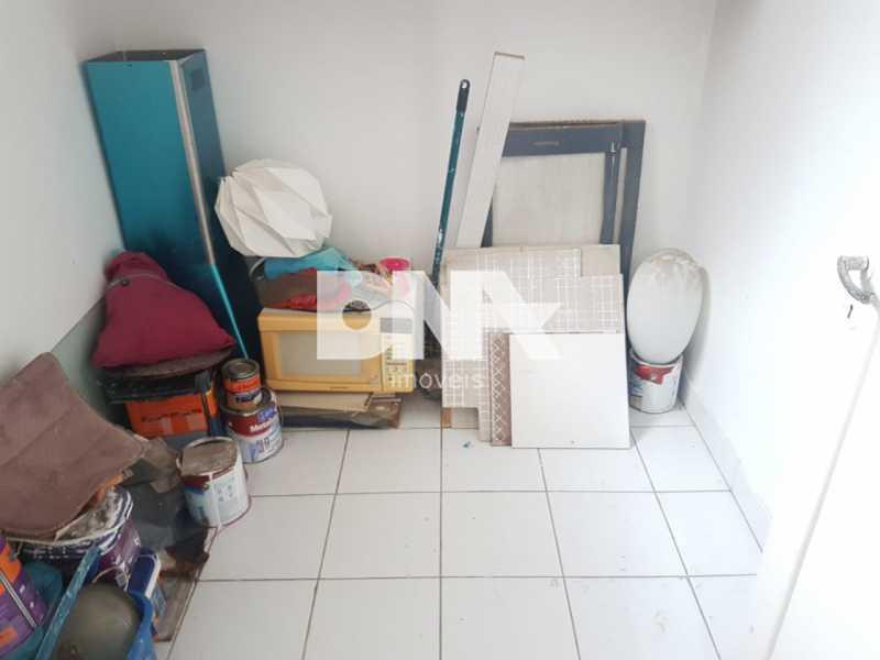 quarto de empregada - Apartamento 3 quartos à venda Tijuca, Rio de Janeiro - R$ 430.000 - NTAP31924 - 18