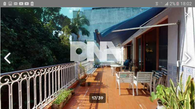 Varanda - Cobertura 5 quartos à venda Gávea, Rio de Janeiro - R$ 2.250.000 - NICO50048 - 3