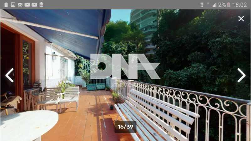Varanda  - Cobertura 5 quartos à venda Gávea, Rio de Janeiro - R$ 2.250.000 - NICO50048 - 1
