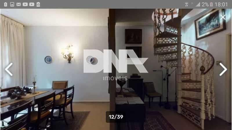 Sala de jantar - Cobertura 5 quartos à venda Gávea, Rio de Janeiro - R$ 2.250.000 - NICO50048 - 15