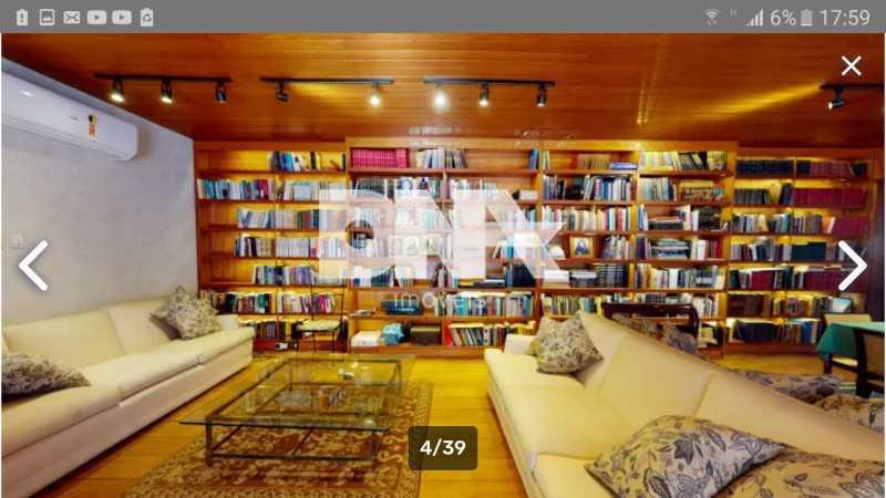 sala - Cobertura 5 quartos à venda Gávea, Rio de Janeiro - R$ 2.250.000 - NICO50048 - 5