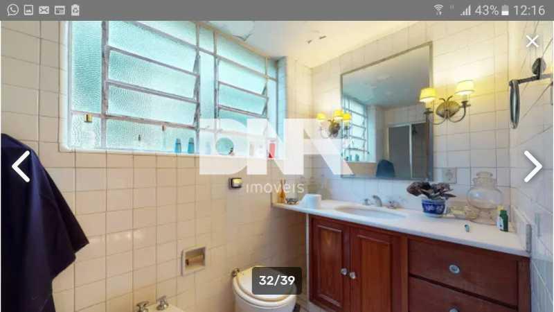 Banheiro  - Cobertura 5 quartos à venda Gávea, Rio de Janeiro - R$ 2.250.000 - NICO50048 - 21