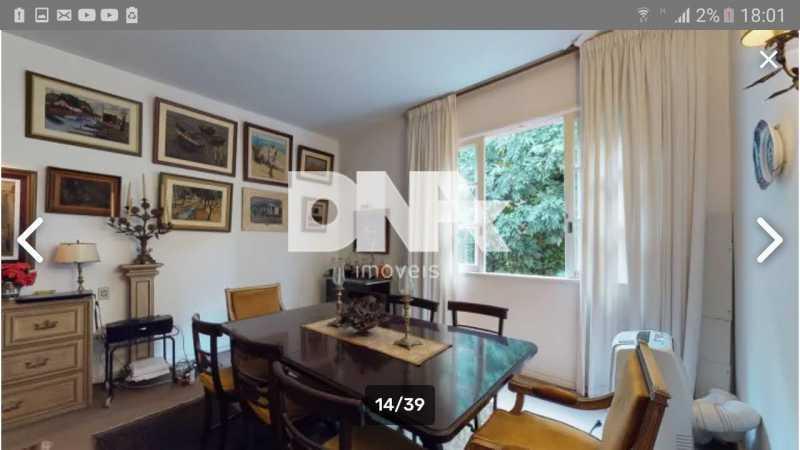 Sala de jantar. - Cobertura 5 quartos à venda Gávea, Rio de Janeiro - R$ 2.250.000 - NICO50048 - 31