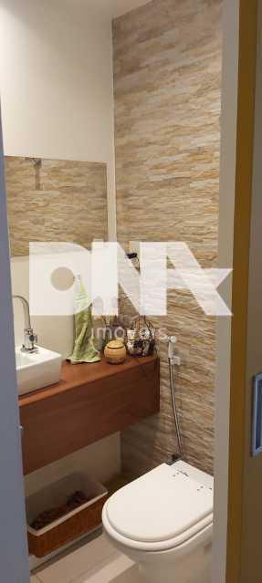 47ed16b8-58ec-49bd-a19b-858732 - Lindo apartamento no Cosme Velho com vista para o Cristo e verde. - NBAP32740 - 4