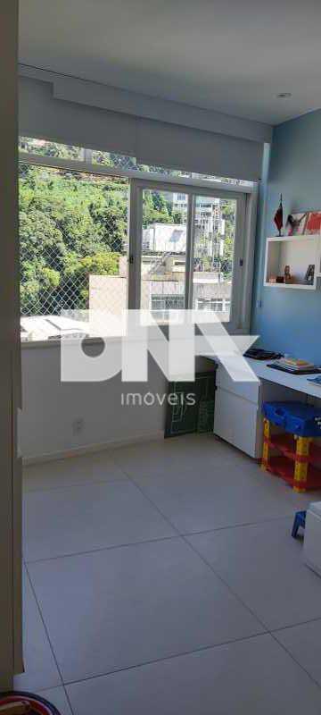 343a096f-36fb-42b4-a956-caba10 - Lindo apartamento no Cosme Velho com vista para o Cristo e verde. - NBAP32740 - 20