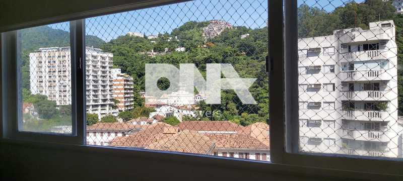 0473d212-1b25-4292-8d2b-84da8e - Lindo apartamento no Cosme Velho com vista para o Cristo e verde. - NBAP32740 - 9
