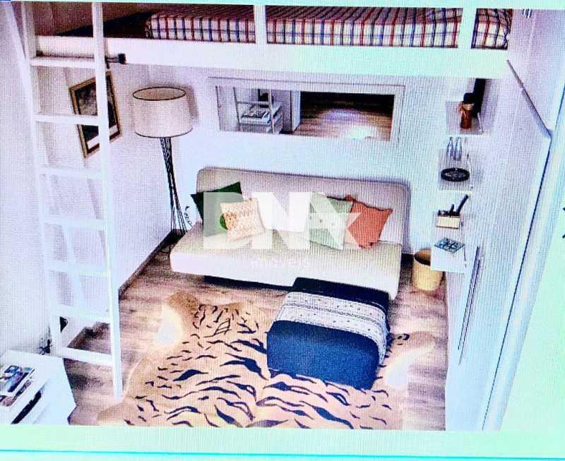 Sala1 - Apartamento à venda Leblon, Rio de Janeiro - R$ 800.000 - NIAP00560 - 1
