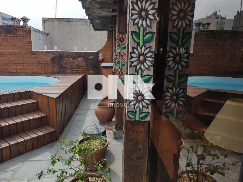 Piscina e Salão - Cobertura 4 quartos à venda Tijuca, Rio de Janeiro - R$ 2.300.000 - NICO40158 - 27
