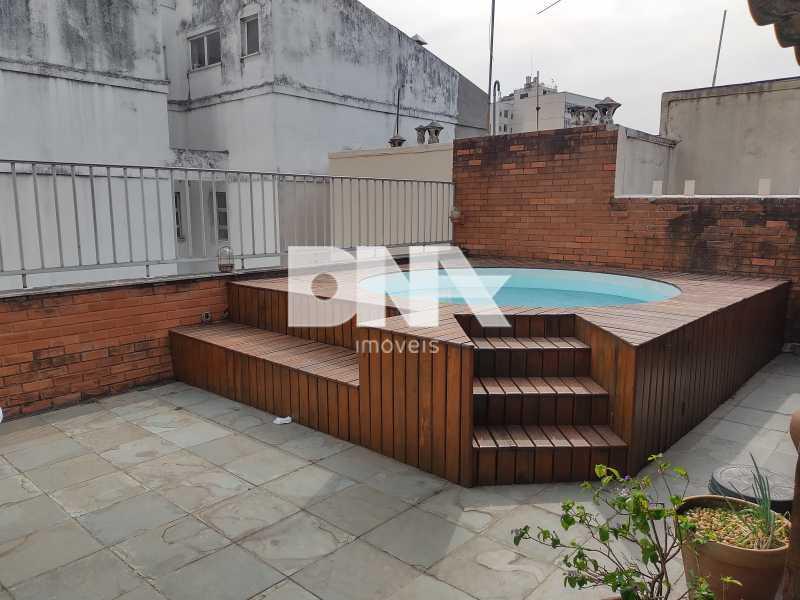 Piscina - Cobertura 4 quartos à venda Tijuca, Rio de Janeiro - R$ 2.300.000 - NICO40158 - 1