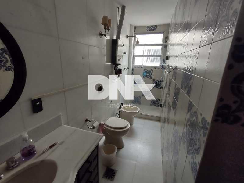 Banheiro suíte  - Cobertura 4 quartos à venda Tijuca, Rio de Janeiro - R$ 2.300.000 - NICO40158 - 23