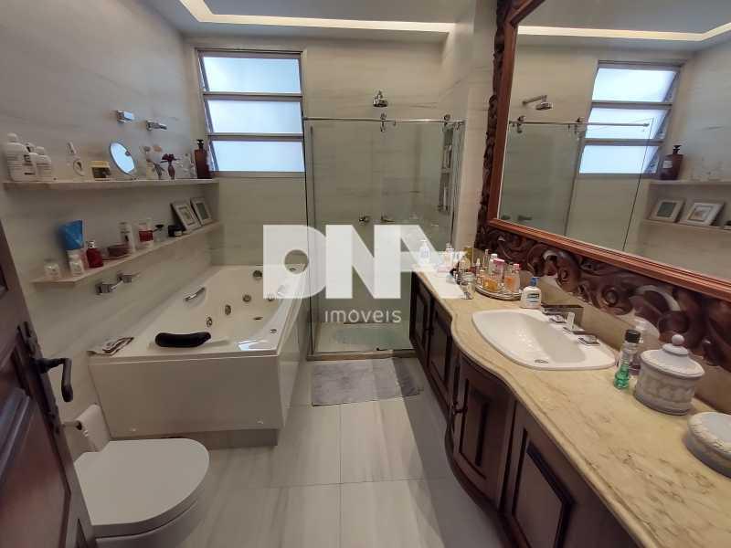 Banheiro social com Hidro - Cobertura 4 quartos à venda Tijuca, Rio de Janeiro - R$ 2.300.000 - NICO40158 - 20