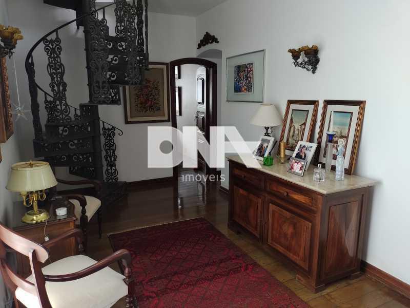 Sala intima - Cobertura 4 quartos à venda Tijuca, Rio de Janeiro - R$ 2.300.000 - NICO40158 - 12