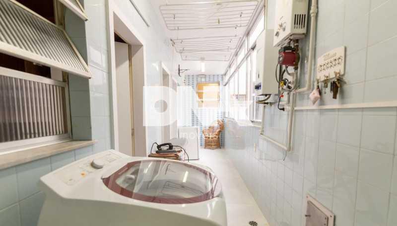Aréa de serviço - Cobertura 4 quartos à venda Tijuca, Rio de Janeiro - R$ 2.300.000 - NICO40158 - 25