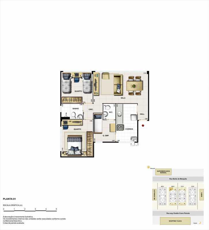 2q ponta - Apartamento Rua Barão de Mesquita,Tijuca,Rio de Janeiro,RJ À Venda,2 Quartos,63m² - LMAP20052 - 6