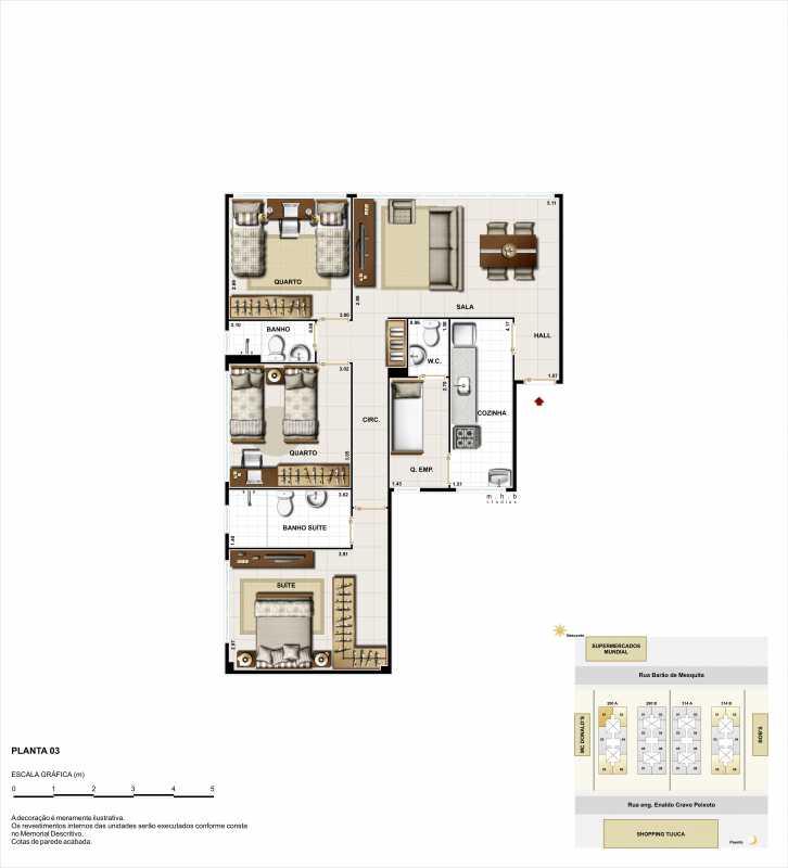 3q ponta - Apartamento à venda Rua Barão de Mesquita,Tijuca, Rio de Janeiro - R$ 541.721 - LMAP20049 - 8