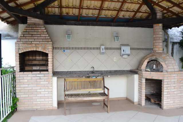 Churrasqueira 2 - Casa à venda Rua Oswaldo Lussac,Taquara, Rio de Janeiro - R$ 315.000 - PECA20107 - 3