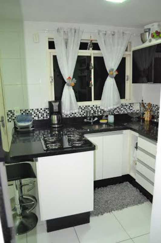 Cozinha 1 - Casa à venda Rua Oswaldo Lussac,Taquara, Rio de Janeiro - R$ 315.000 - PECA20107 - 16