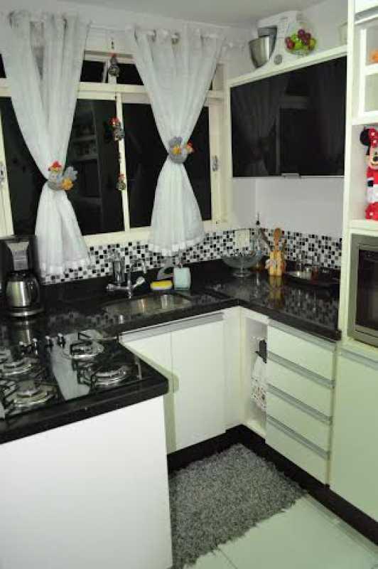 Cozinha 4 - Casa à venda Rua Oswaldo Lussac,Taquara, Rio de Janeiro - R$ 315.000 - PECA20107 - 14