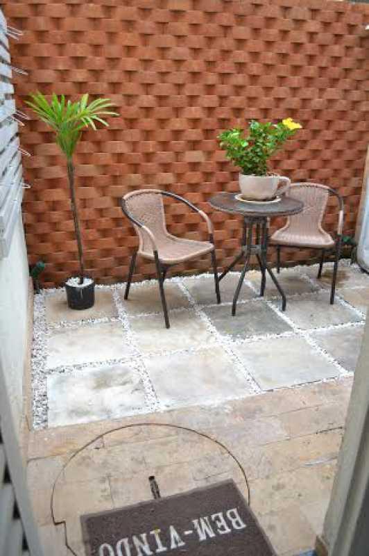 Quintal 1 - Casa à venda Rua Oswaldo Lussac,Taquara, Rio de Janeiro - R$ 315.000 - PECA20107 - 1