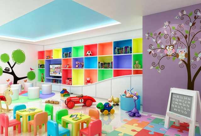 brinquedoteca - Apartamento à venda Estrada da Cachamorra,Campo Grande, Rio de Janeiro - R$ 358.360 - LMAP20033 - 1