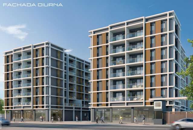 brise_fachada_diurna - Apartamento à venda Estrada da Cachamorra,Campo Grande, Rio de Janeiro - R$ 358.360 - LMAP20033 - 3