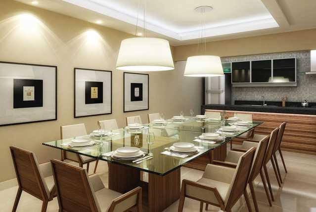 espaco_gourmet - Apartamento à venda Estrada da Cachamorra,Campo Grande, Rio de Janeiro - R$ 358.360 - LMAP20033 - 7