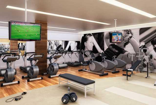 fitness - Apartamento à venda Estrada da Cachamorra,Campo Grande, Rio de Janeiro - R$ 358.360 - LMAP20033 - 10