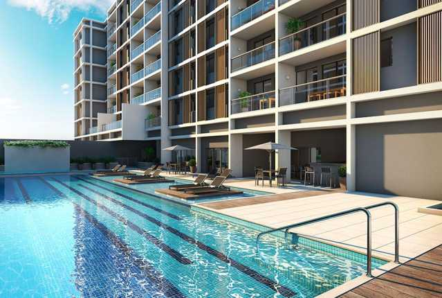 piscina - Apartamento à venda Estrada da Cachamorra,Campo Grande, Rio de Janeiro - R$ 358.360 - LMAP20033 - 12
