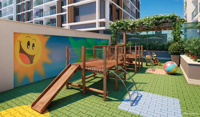 playground - Apartamento à venda Estrada da Cachamorra,Campo Grande, Rio de Janeiro - R$ 358.360 - LMAP20033 - 16
