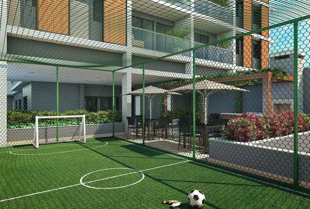 quadra_infantil - Apartamento à venda Estrada da Cachamorra,Campo Grande, Rio de Janeiro - R$ 358.360 - LMAP20033 - 17