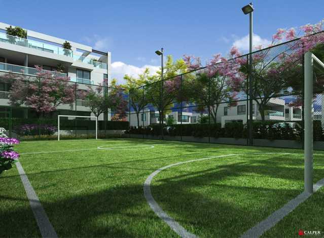 Campo de futebol - Apartamento à venda Rua Omar Bandeira Ramidan Sobrinho,Recreio dos Bandeirantes, Rio de Janeiro - R$ 763.660 - LMAP30074 - 11
