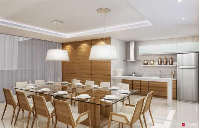 Espaco gourmet - Apartamento à venda Rua Omar Bandeira Ramidan Sobrinho,Recreio dos Bandeirantes, Rio de Janeiro - R$ 763.660 - LMAP30074 - 4